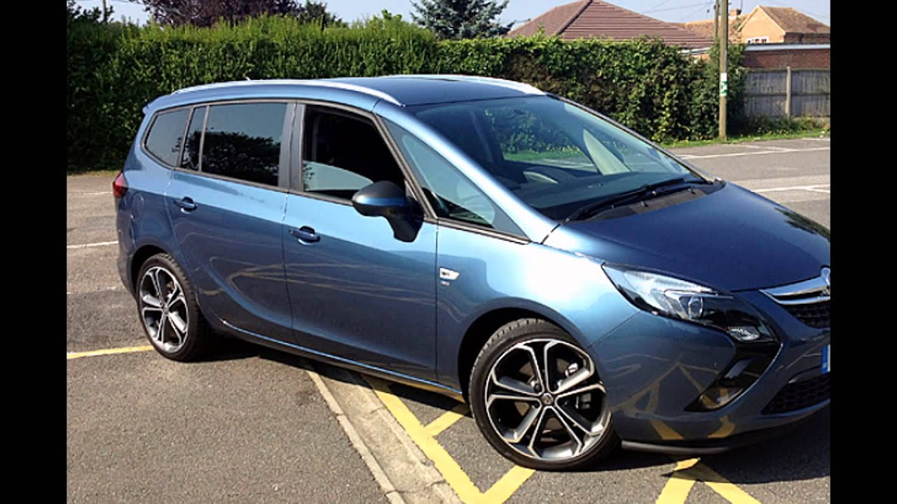 2016 vauxhall zafira tourer dark sea blue youtube. Black Bedroom Furniture Sets. Home Design Ideas