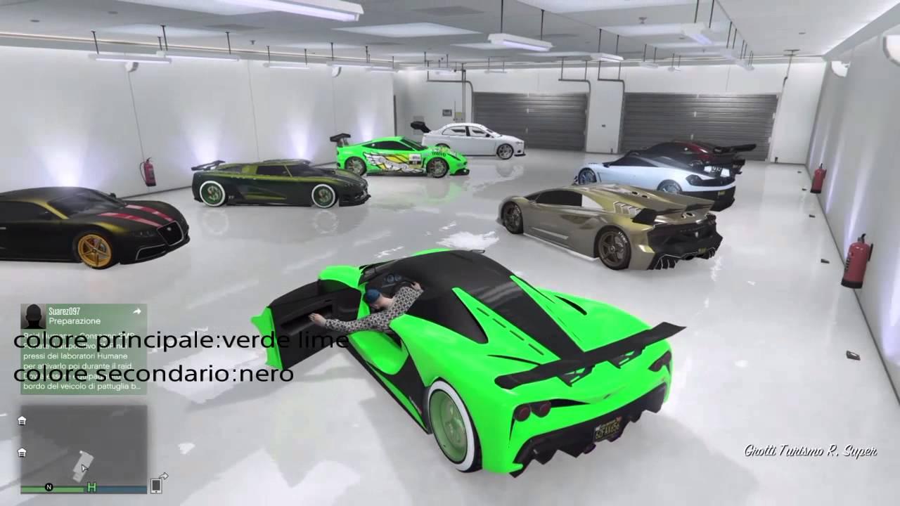 Gta5 online il mio garage youtube for Progetta il mio garage