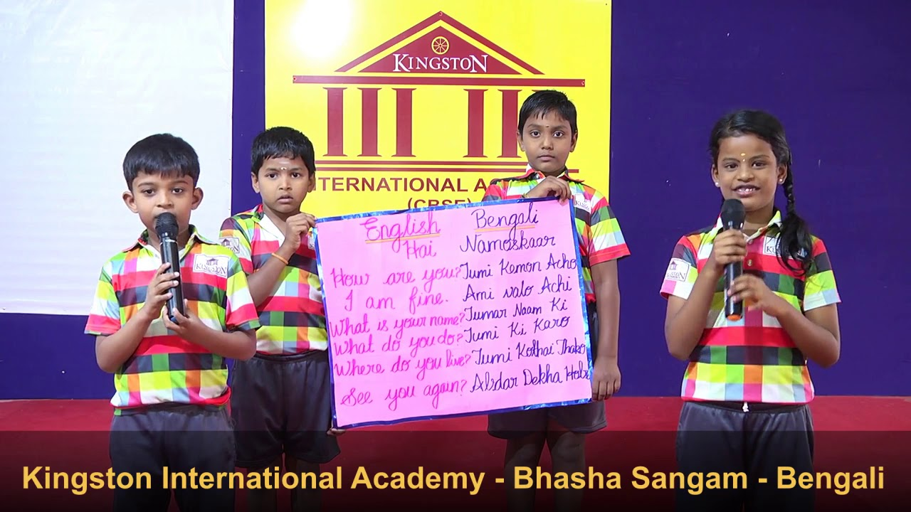 Kingston International Academy - Bhasha Sangam - Bengali