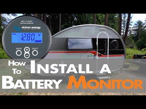 How we Installed a Victron Battery Monitor (BMV-712) in our Tab 400