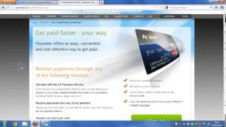How To Get Your Free Debit Card & Activate Paypal Account ( Payoneer Prepaid Master Card ) +$25