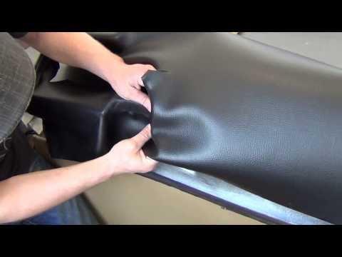 видео: Обтяжка панели каучуковым материалом 1 часть