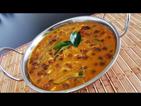 Black Chickpea Curry|Kadala Curry (Kerala Style)|Vegan/Vegetarian Recipe