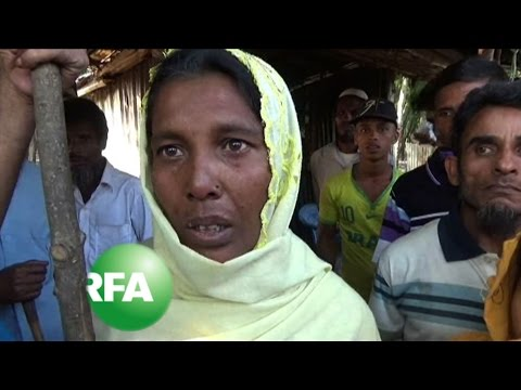 Hundreds of Rohingya Flee Unrest in Myanmar | Radio Free Asia (RFA)