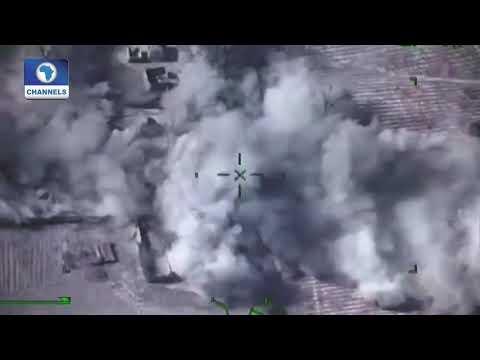 NAF Intensified Air Strikes Destroys Bandits' Camps In Zamfara