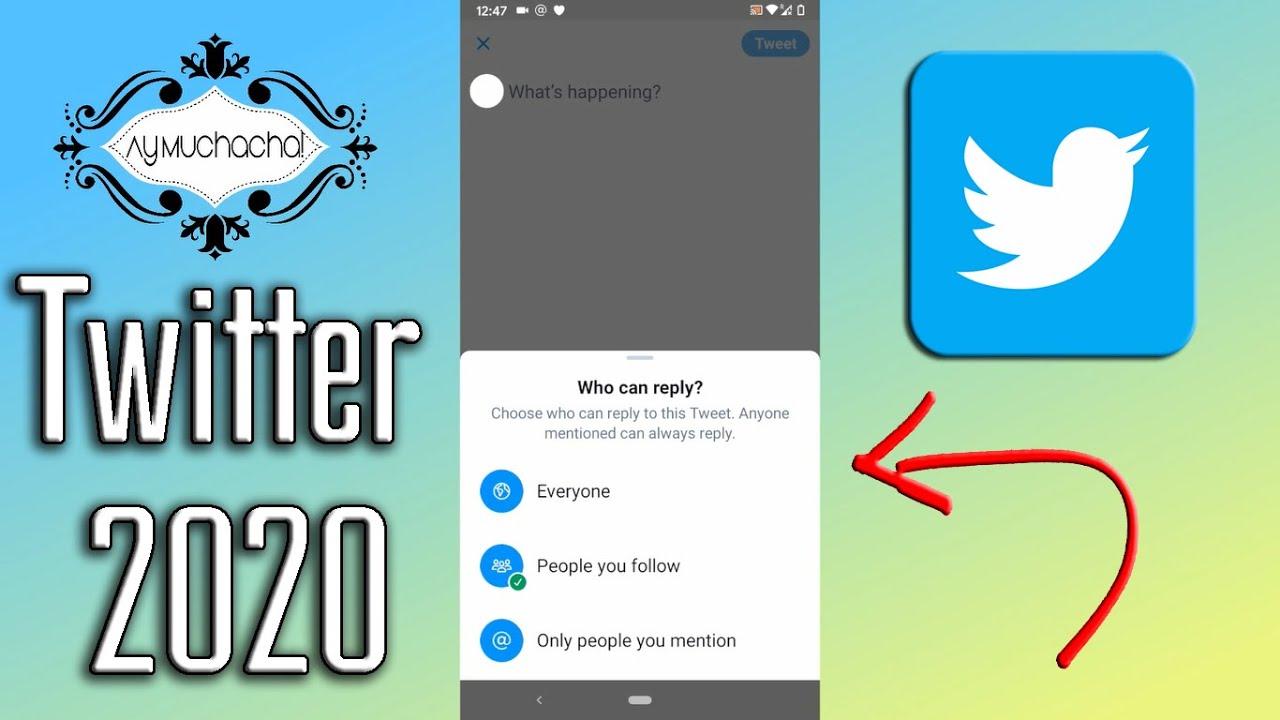 Nueva opción en Twitter 2020