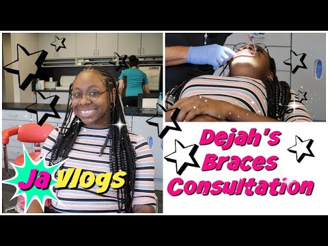 Dejah's Braces Consultation | JaVlogs