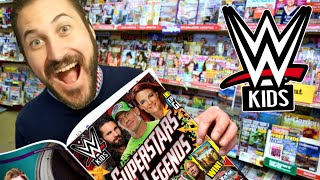 WWE Kids Magazine Review - Sup…