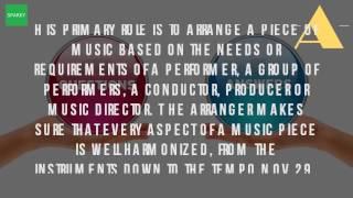 What Is An Arranger Of Music?
