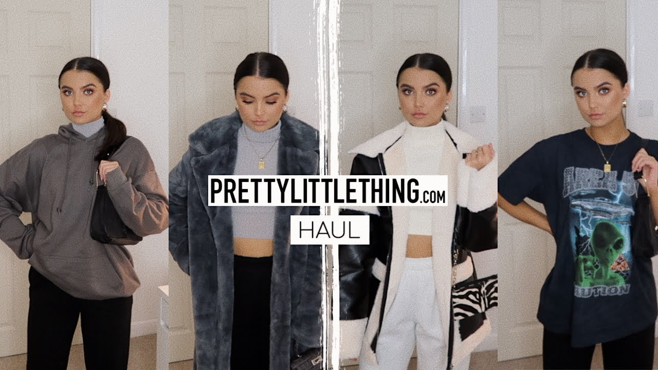 [VIDEO] - HUGE PRETTYLITTLETHING AUTUMN/WINTER HAUL!! // STYLING COMFY PLT OUTFITS | Adina May 1