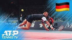 Great ATP Shots And Rallies By German Players Past And Present!