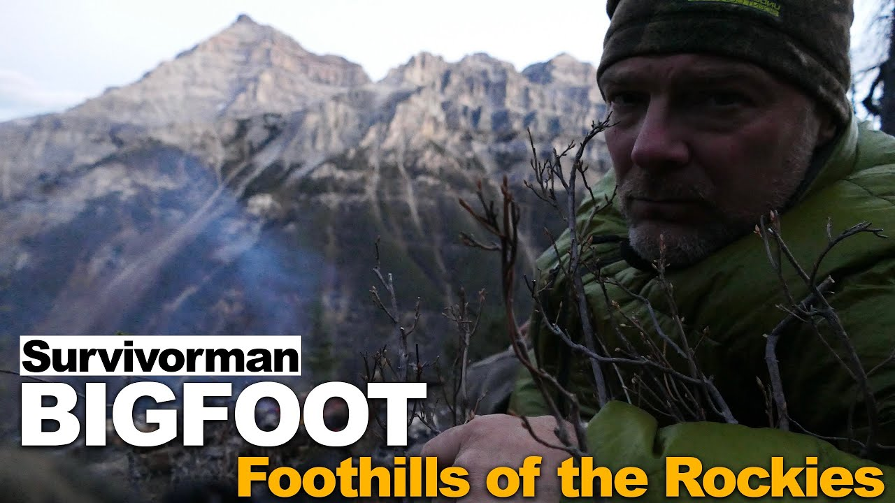Download Survivorman Bigfoot | Episode 4 | Foothills of the Rockies | Les Stroud