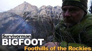 Survivorman Bigfoot   Episode 4   Foothills of the Rockies   Les Stroud