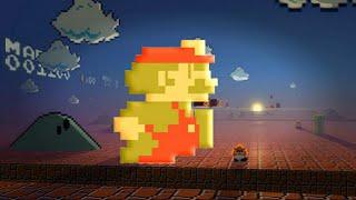 Super Mario Bros do Nintendinho em 3D!!!