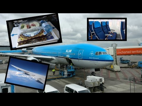 Flight Report │ AMS-PTY │ KLM B777-200 new Economy