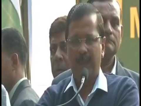 Delhi CM Arvind kejriwal Roaring Speech at Jantar Mantar - Kisaan March