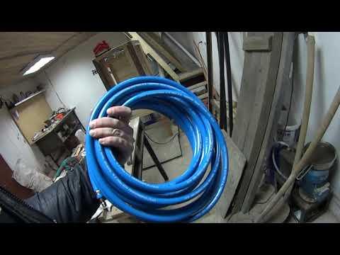 Дополнительный ресивер из газового баллона для компрессора / Подготовка гаража к покраске авто