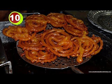 Jalebi Making Indian Street Food Delhi Food & Travel Guide | By Street Food & Travel TV India