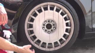 BrakeDust Pro used on White Wheels? How much is used per wheel?