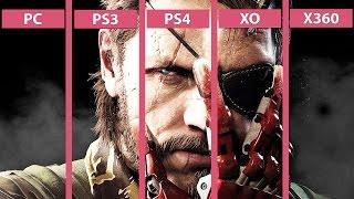 Metal Gear Solid 5 The Phantom Pain – PC vs. PS4 | PS4 vs. PS3 | XO vs. X360 Graphics Comparison