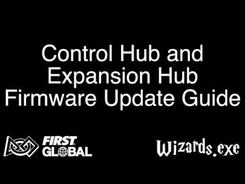 FIRST Global And FTC Control Hub And Expansion Hub Firmware Update Guide