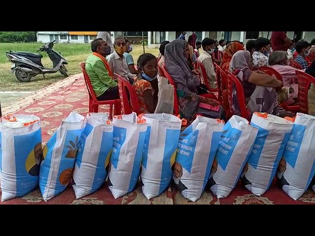 यूपी उन्नाव जनपद के सफीपुर  विधायक और एसडीएम की अध्यक्षता में आयोजित हुआ प्रधानमंत्री गरीब कल्याण अन