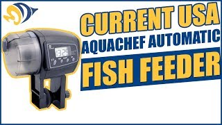 Current USA AquaChef Automatic Fish Feeder Product Demo