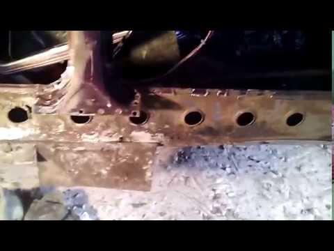 Видеозапись Замена короба на ВАЗ 2107 своими руками