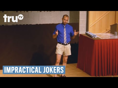 Impractical Jokers  Lower Body Hazing Punishment  truTV