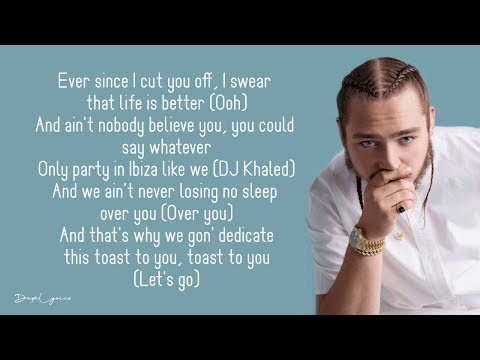 DJ Khaled - Celebrate (Lyrics) Ft. Travis Scott, Post Malone