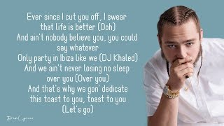 DJ Khaled - Celebrate (Lyrics) Ft. Travis Scott, Post Malone