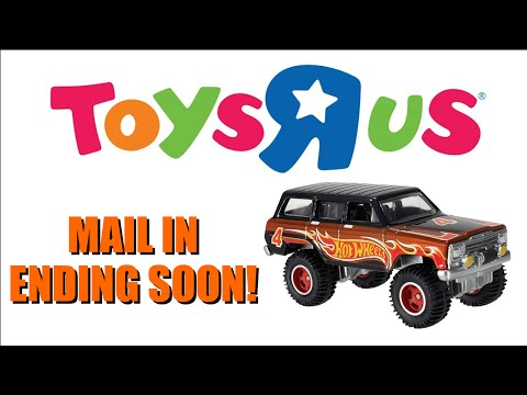 Toys R Us Mail In - Ends September 14th