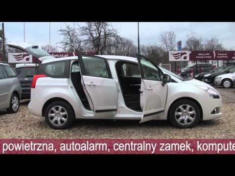 AUTO RATUSZ Peugeot 5008 GWARANCJA/ JAK NOWY/F-VAT23% 47 900 PLN