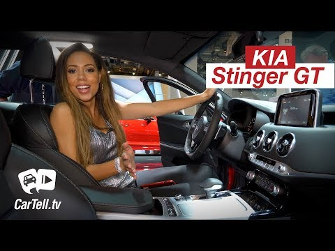 2018 Kia Stinger GT Quick Review CarTell.tv