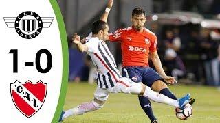 Resumen y goles Libertad 1-0 Independiente