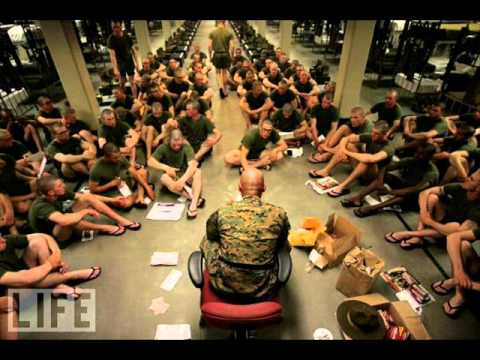 US Marine boot camp - YouTube