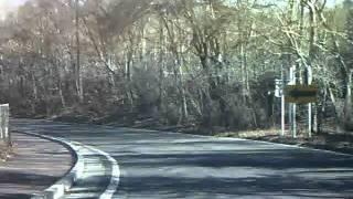 国道138号(篭坂峠)で山中湖へ