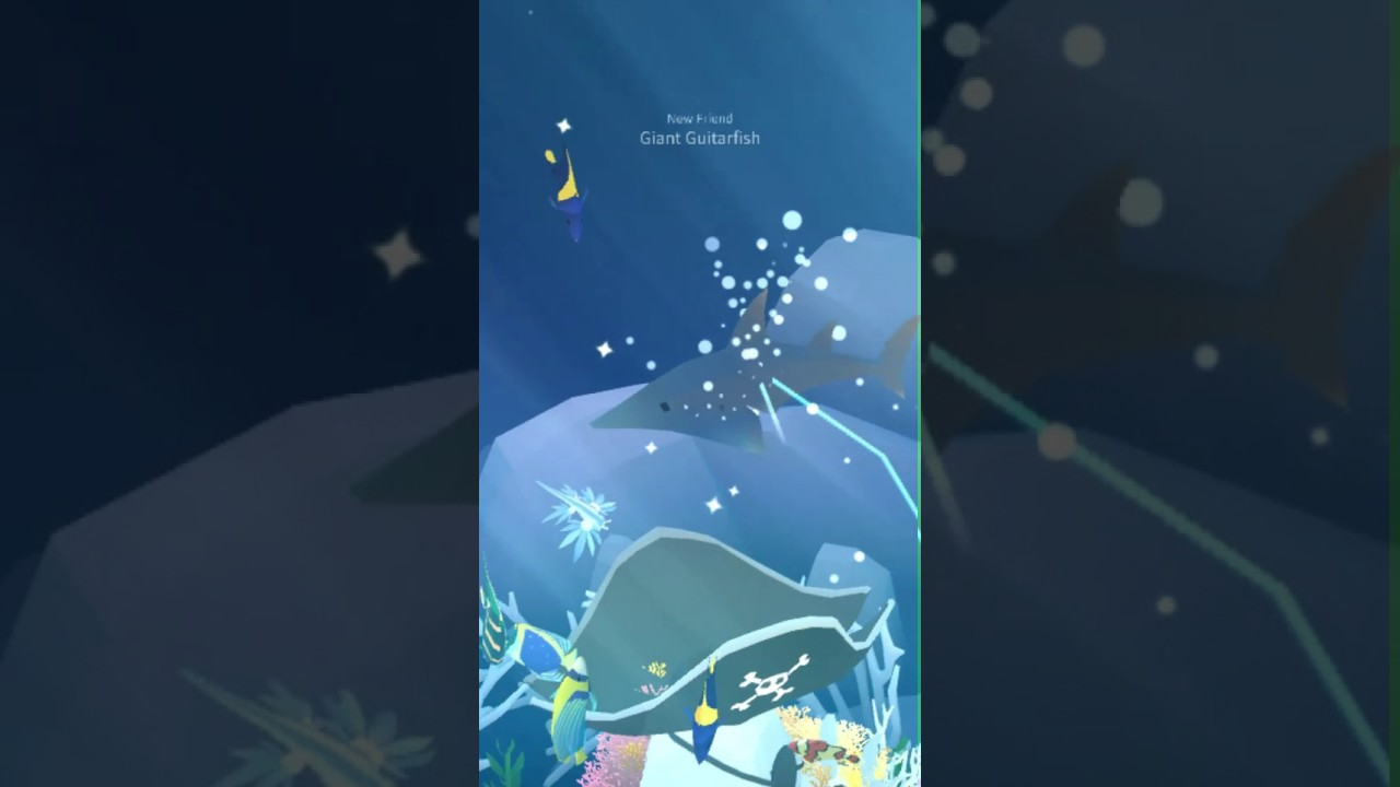 Tap tap fish abyssrium giant guitarfish youtube for Tap tap fish all hidden fish