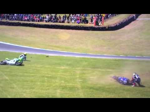 All crashes so far in the 2017 world superbike championship