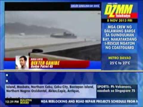 Crew ng cargo vessel, tinangay ng alon sa Bohol