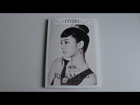Unboxing Girl's Day 걸스데이 2nd Studio Album Love (Hyeri Version)