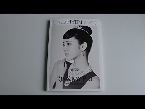 Unboxing Girl's Day 걸스데이 2nd Studio Album Love (Hyeri Version)