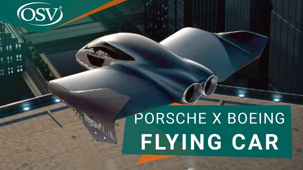 Porsche x Boeing Flying Car
