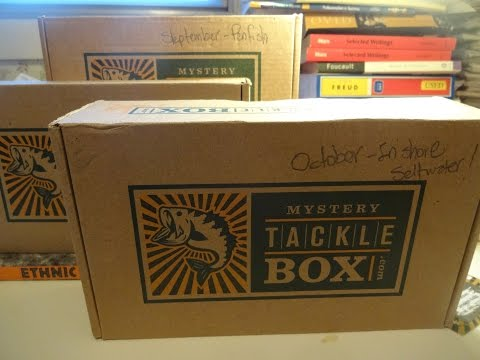 Mystery Tackle Box Unboxing (In-shore Saltwater) - October 2015
