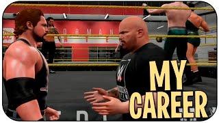 WWE 2K16 Моя Карьера - Обучение #1