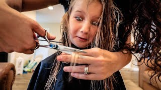 Trimming Ends | FAMILY VLOG✂️