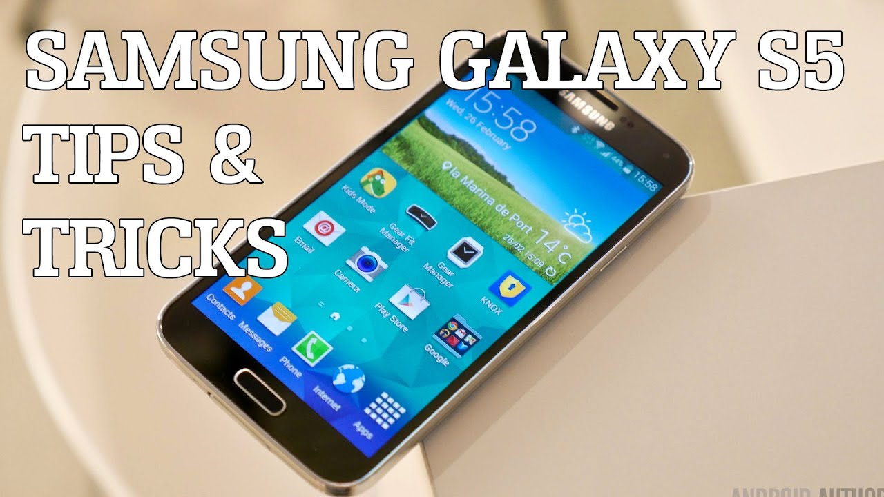 Samsung Galaxy S5 Tips & Tricks!