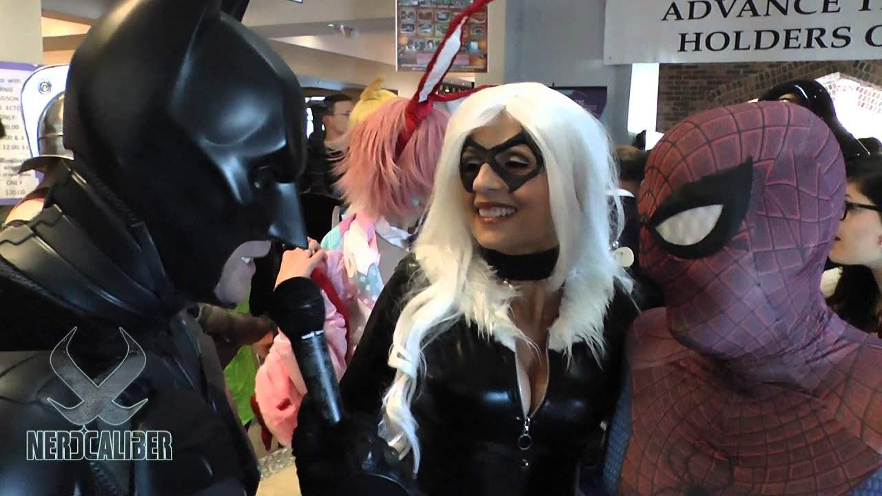 BATMAN and SPIDER-MAN (With Black Cat) at Super Megafest ...