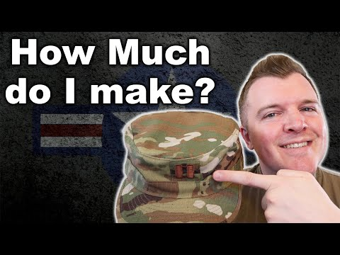 MILITARY OFFICER PAY - What Does A Captain (O-3) Make?