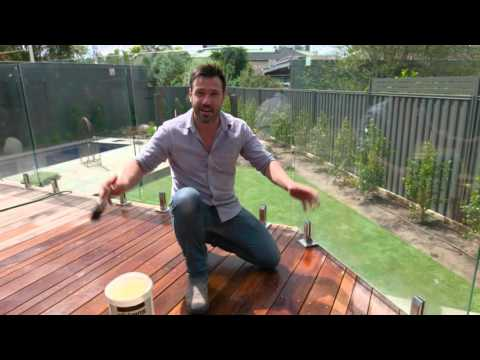 The Home Team Season 2 - DIY Cleaning Your Deck - YouTube